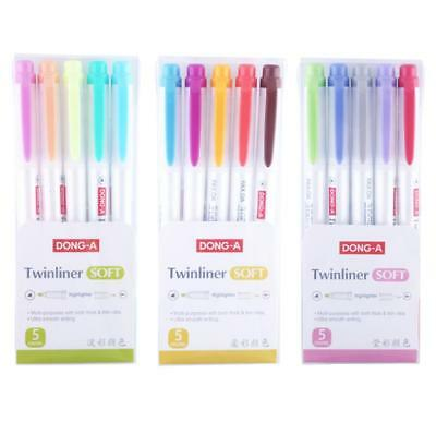 Fluorescent pen Highlighter pen marker Pastel Soft Color - Non zebra mildliner