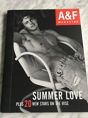 A&F Quarterly Bruce Weber #4 Summer 2005 Abercrombie V.Good Condition