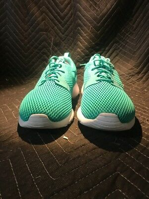 e9bed3a0d701 NIKE ROSHE ONE Hyperfuse Breathe Clear Jade Clear Jade-White 833125 ...