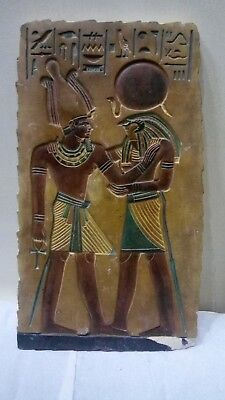 RARE ANCIENT EGYPTIAN ANTIQUE Ramses III and Horus 1950 BC