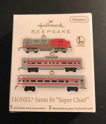 "Hallmark LIONEL SANTA FE ""SUPER CHIEF"" - Miniature - Dated 2011"