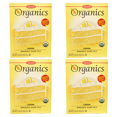 4X European Gourmet Bakery Organics Cake Mix Lemon Baking Items Healthy Foods