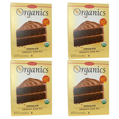 4X European Gourmet Bakery Organics Cake Mix Chocolate Baking Item Healthy Food