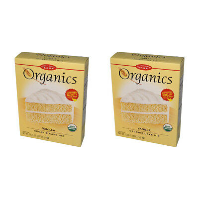 2X European Gourmet Bakery Organics Cake Mix Vanilla Baking Item Healthy Food
