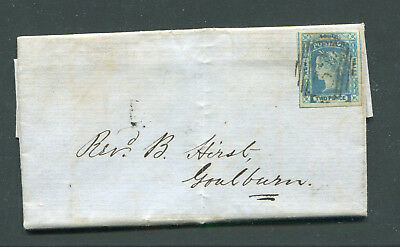 New South Wales 1854 Complete Entire With Interesting Letter From Burrima