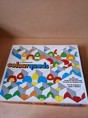 Board Game Colour Quads A Parker Game Colourquads NR Complete