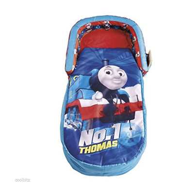 Thomas the Tank Engine Inflatable Blow Up Kids Readybed Sleeping Bag w Pump New
