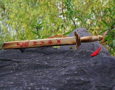 10X Kung Fu Wooden Swords with Case Toy for Kid toy-w66