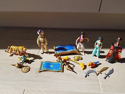 Mattel Disney Aladdin Action Figure Selection Prince Ali, Jasmine, Rajah 2000