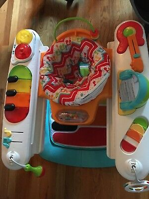 Fisher-Price Entertainer 4-1 Step N Play Piano Activity Seat