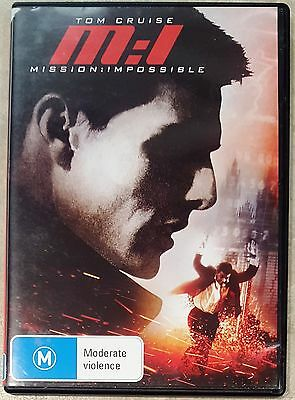 M:I Mission Impossible (Tom Cruise) DVD **LIKE NEW** (Region 4)