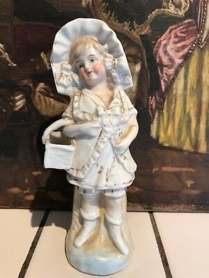 Antique Victorian Glazed Porcelain Figure