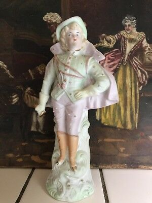 Antique Victorian Bisque Porcelain Figure
