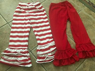 Lot Boutique Ruffle pants and shorts  4T