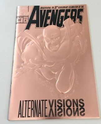 The Avengers #360 1993 30th anniversary issue. Copper foil embossed cover Marvel