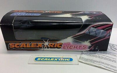 SCALEXTRIC HORNBY 1980's PORSCHE TURBO 935 SILVER C288 (BOX & INSTRUCTIONS )
