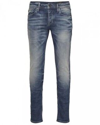 Jack & Jones Men's Jeans 12094996 Denim jjglenn jjoriginal JJ 887 Noos Slim Fit