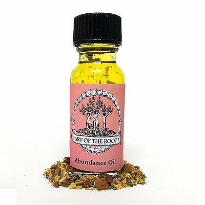 Abundance Oil for Success Propserity Manifestation: Hoodoo Voodoo Wiccan Pagan