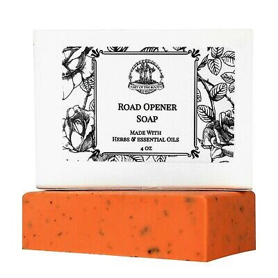 Road Opener Shea Soap Bar Opportunities Beginnings Wiccan Pagan Hoodoo Wicca