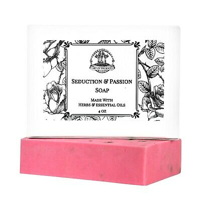 Seduction & Passion Shea Soap Sex Appeal Lust Attraction Wiccan Pagan Hoodoo