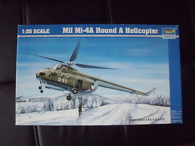 Mil Mi-4A Hound A Helicopter 1/35