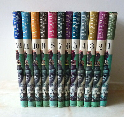 Winston Churchill – A History Of The English-Speaking Peoples – 12 Volumes