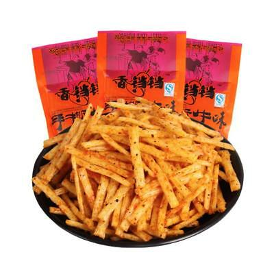 Chinese spicy LaTiao Specialty Snack Spicy Food Gluten Bean Delicious_Food