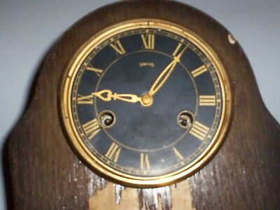 Vintage Smiths Clock Made In Gt Britain Smiths Enfield Clock Co. Ltd