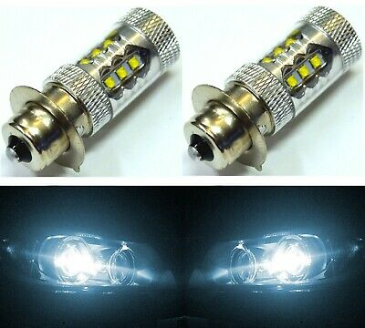 CREE LED 80W P15s-25-1 1151 White 6000K Two Bulbs Headlight Scooter ATV UTV Bike