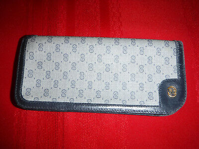 Vintage Gucci Eye Glass Case 80s' Authentic