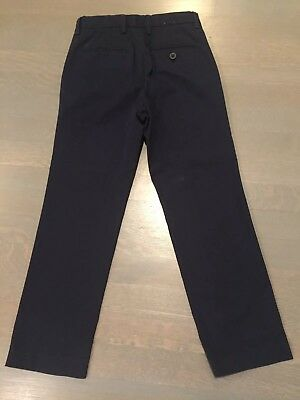 Crewcuts lightweight navy pants Size 7. Excellent condition just dry cleaned.