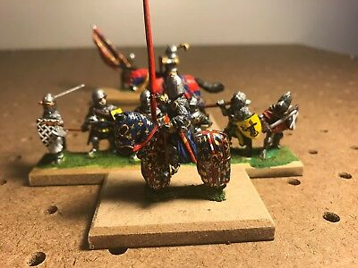 Painted 25mm scale Male Knight #36