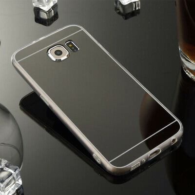 Ultra Slim Luxury Crystal Mirror Case for Samsung S6 S7 S8 Plus Note 8 5 4 J7 J3