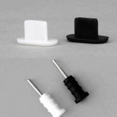 10set Anti Dust Cap Earphone Plug Stopper For iPhone 5 5S 6 6S Silicone Dust Plu