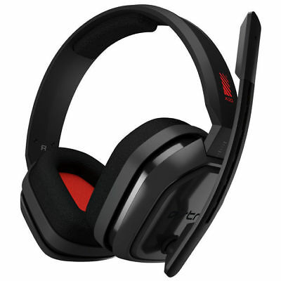 Astro Gaming A10 Wired Headset PC/Mac/Xbox One/PS4- Grey/Red (Free Postage)