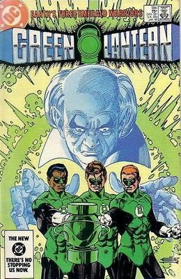 Green Lantern (1st Series DC) #184 1985 VF Stock Image