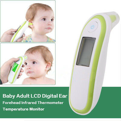 Latest Ear Thermometer Digital Adult Baby IR In-Ear InfraRed LCD Temperature New