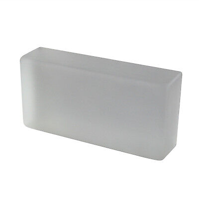 Crystal Collection glass brick satin-finished 20x10x5 cm