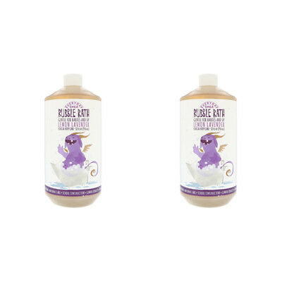2X Everyday Shea Bubble Bath Gentle For Babies And Up Lemon Lavender Body Care