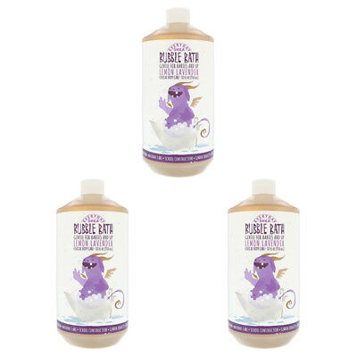 3X Everyday Shea Bubble Bath Gentle For Babies And Up Lemon Lavender Body Care