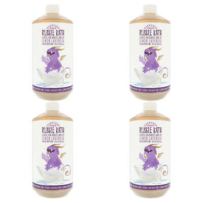 4X Everyday Shea Bubble Bath Gentle For Babies And Up Lemon Lavender Body Care