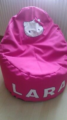 Hello Kitty Bean Bag Chair Pink Child Toddler Best Service 6e3ee