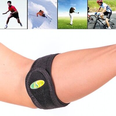 Tennis Brace Arm Elbow Strap Epicondylitis Wrap Support Lateral Gym Protector