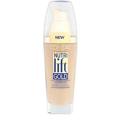 L'Oreal Nutri Lift Gold Foundation 25mL - Choose Your Shade