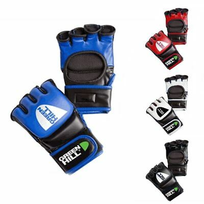Green Hill MMA Glove Sparring Glove For MMA Kickboxing,Training & Cage Fighting