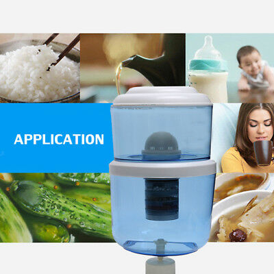 8 Stage 12L Water Filter Benchtop Dispenser Filter System Purifier Home Drinking