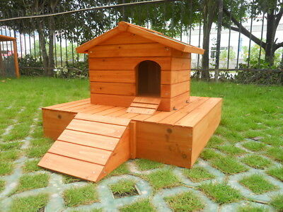 Duck House Wooden Floating Platform Wood Nesting Box Waterfowl Pond  Easipet 263