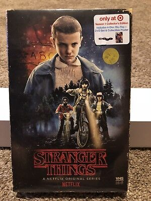 Stranger Things Season 1 (Blu-Ray/DVD) Collector's Edition: Target Exclusive