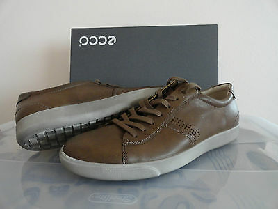 3f203cfa6108 NEW ECCO GARY Lace Up Men s Leather Shoes Navajo Brown -  94.99 ...