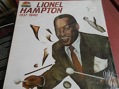 Lionel Hampton: 1937 - 1940: Vinyl Lp: 1984: Giants Of Jazz